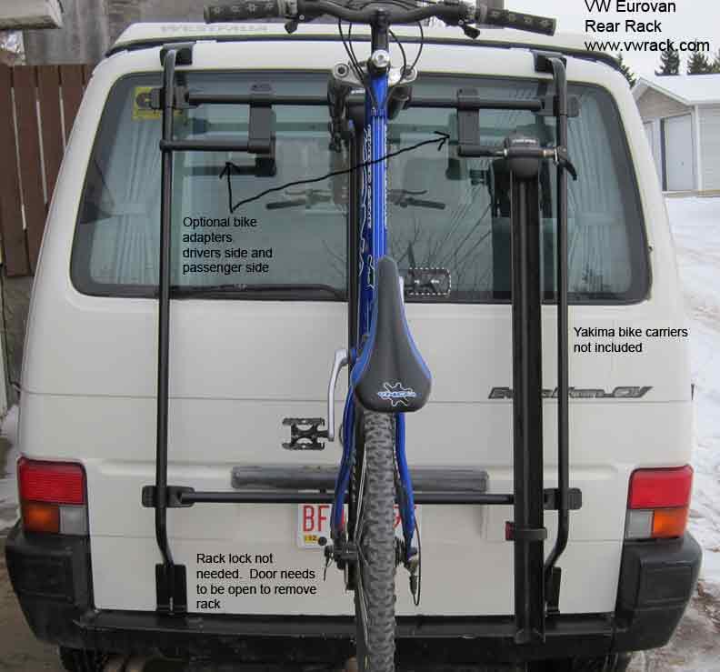 VW Eurovan bike rack