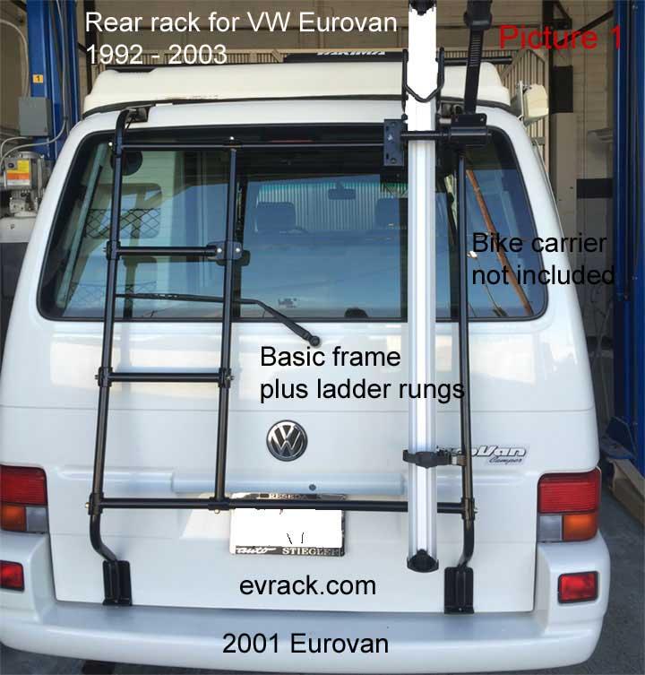 Eurovan Bike Rack